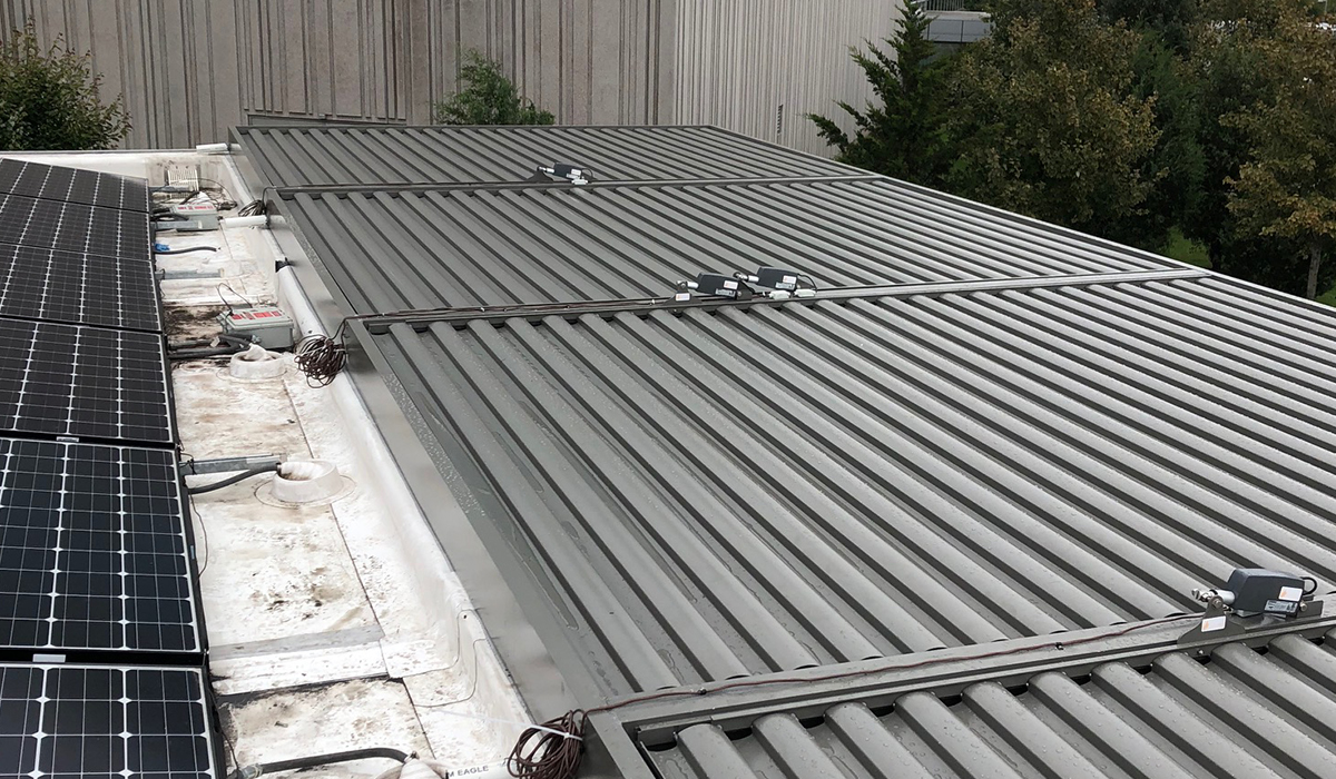 louvered roof systems