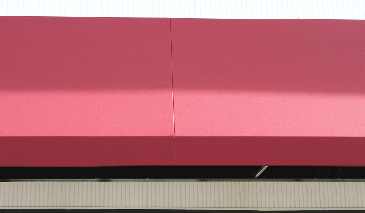 Commercial Fixed Awnings