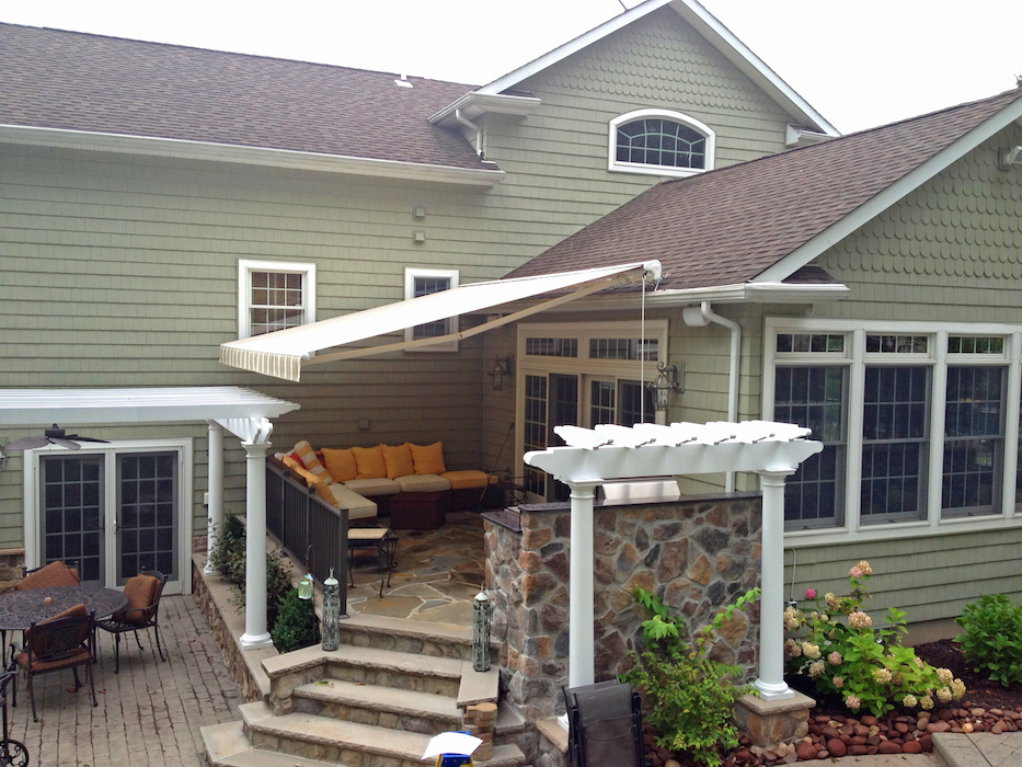 Retractable Awnings   Majestic Awning   New Jersey Awning ...