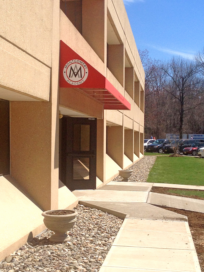 Commercial Awnings   Entrance Canopy