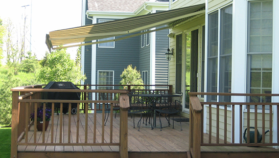 Covering your patio, decks, or windows from all types of weather